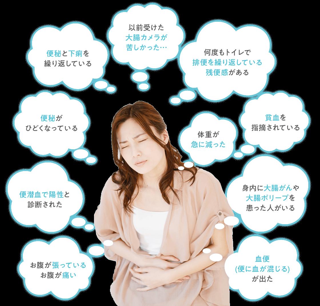 以前大腸内視鏡検査で苦しい思いをされた方は京都の金光診療所へご相談ください