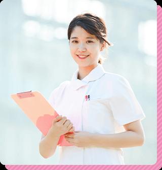 女性看護師が優しく丁寧に対応