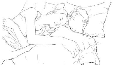 そのまま、おやすみください