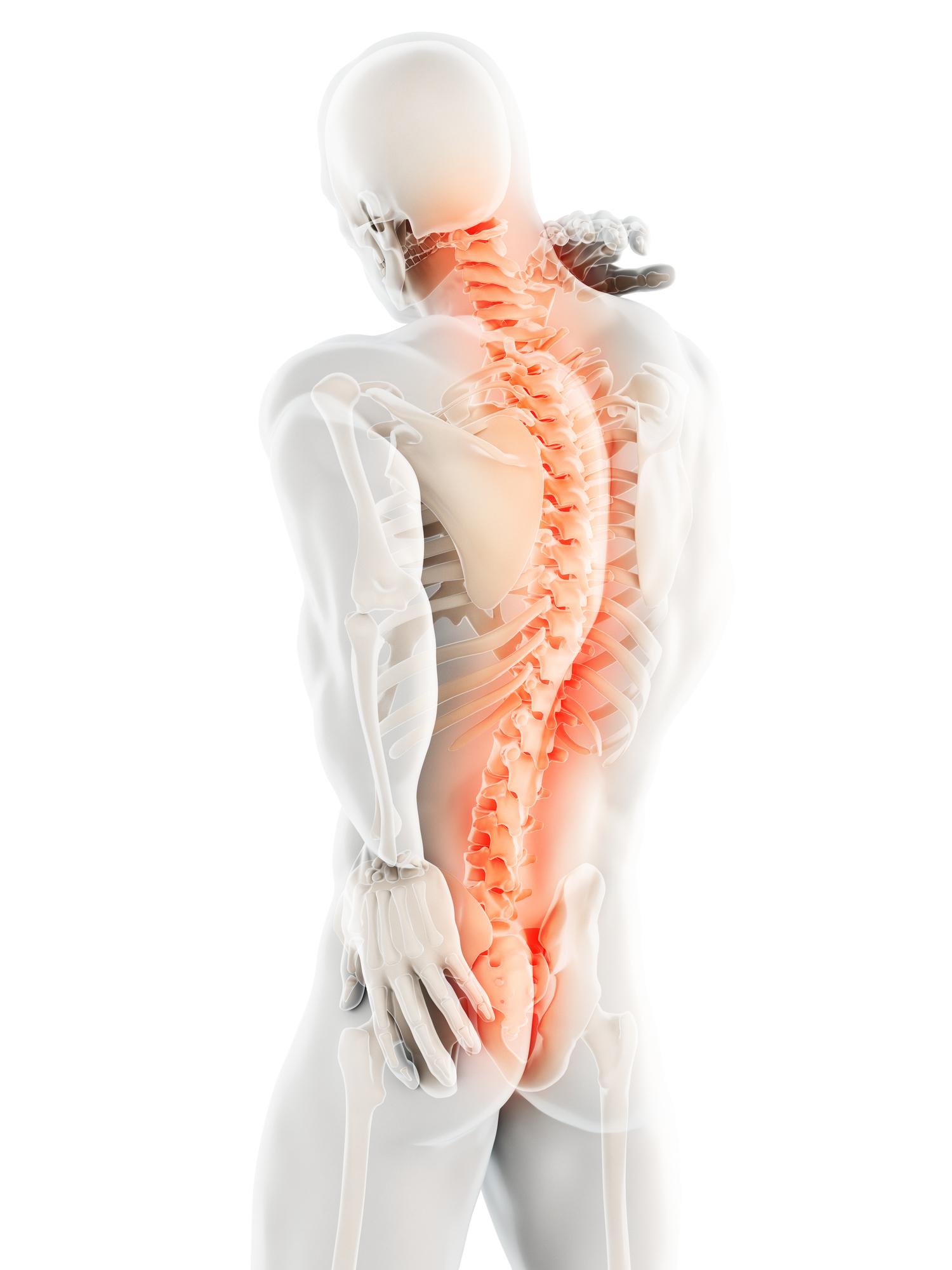 金光診療所では変形性脊椎症の検査・リハビリを行なっています。