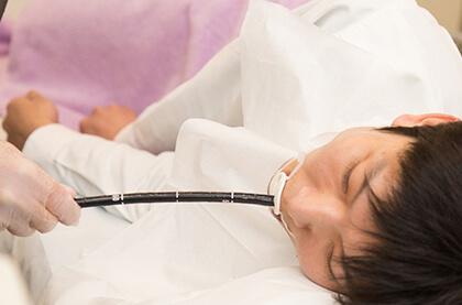 鎮静剤(麻酔)でできる限り苦痛の少ない検査